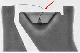 X線透過観察(不良箇所の早期発見)