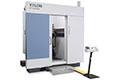 高さ82cm、重さ50kgまでのサンプルが鮮明に撮影できる、ハイパワーX線CT