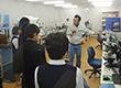岩手県の中学生が東京ラボを見学